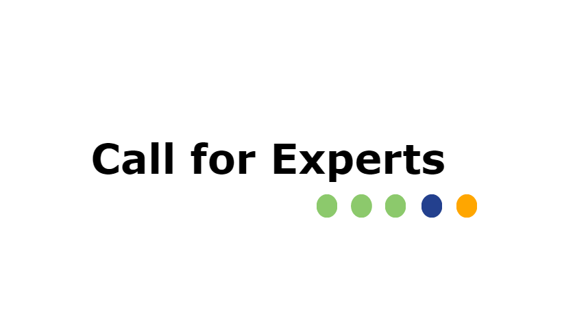 15.11.2017 CALL FOR EXPERTS - FIGHT AGAINST CORRUPTION