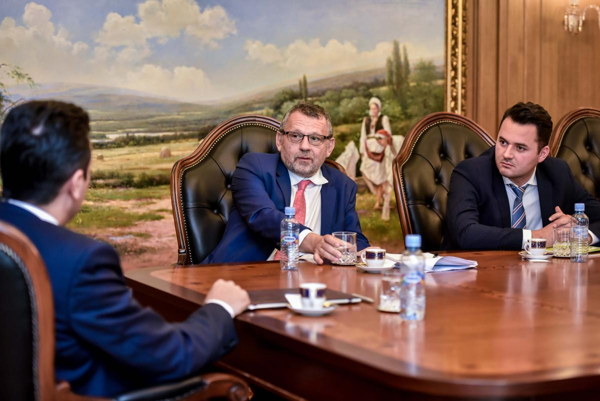 01.11.2017  Meeting with the Prime Minister Zoran Zaev