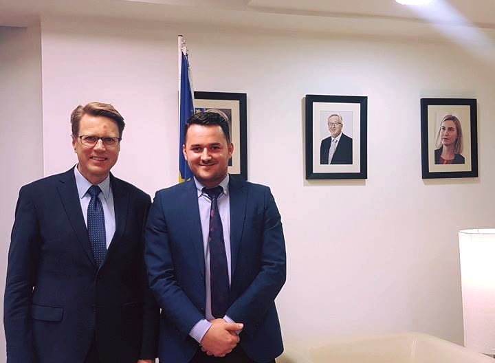Meeting with HE Mr. Samuel Zbogar, EU Head of Mission to Macedonia.