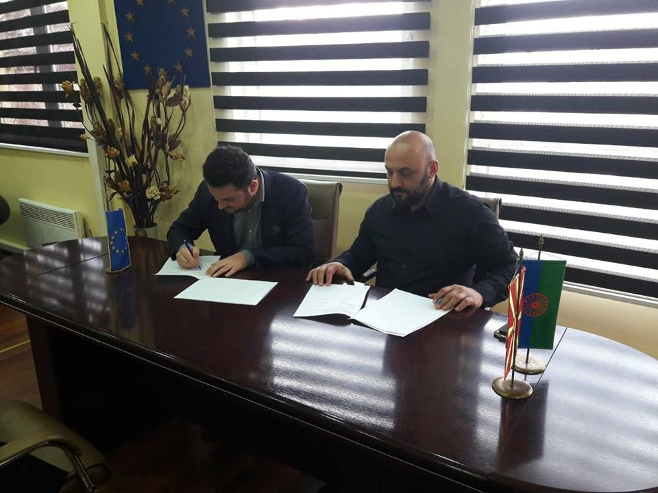 28.12.2017 MoU with Municipality of Shuto Orizari